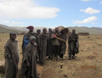 Basotho Fols in Lesotho