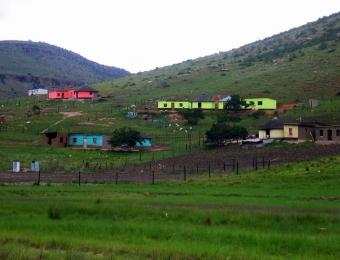 Xhosa Huts 1